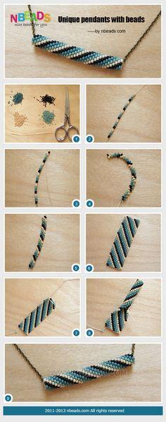 Unique Pendants with Beads
