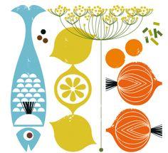 Illustration for a cookbook.