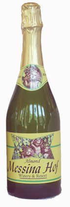 Messina Hof Almond Sparkling Wine. A demi-sec sparkling wine with a delicate almond flavor layered over impressions of green apple and toasted vanilla. Our best-selling sparkling wine goes well with broiled or grilled fish or chicken.