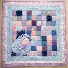 Eeyore quilt idea...love it!