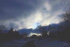 #fineartphotography #wintersky #snowynight #wintersky #naturephotography