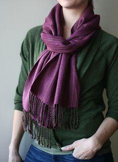 handwoven coleus scarf http://pirtti.com