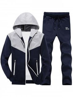 Home Intelligent 2019 Mens Men Casual Active Suit Zipper Outwear Sportwear Suit Sweatshirt Tracksuit Without Hoodie 2pc Jacket+pants Sets Pleasant In After-Taste