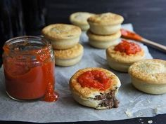 A lovely sweet, but spicy sauce for use on meats, pies and is even nice and tasty on bread and butter. Tomato Chilli Sauce, Spicy Sauce, Sauce Recipes, Beef Recipes, Cooking Recipes, Easy Recipes, Sausage Rolls, Creamy Pasta
