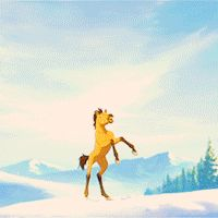 spirit stallion of the cimarron Spirit Horse Movie, Spirit Film, Spirit The Horse, Spirit And Rain, Dreamworks Animation, Disney And Dreamworks, Disney Horses, Horse Movies, Horse Illustration