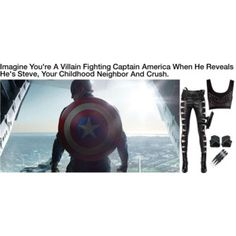 Imagine You're A Villain Fighting Captain America When He Reveals He's Steve, Your Childhood Neighbor And Crush