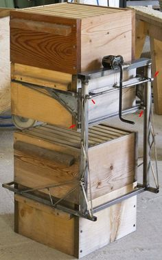 lift for warre beehives