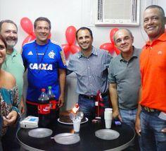 Curtinha: Rodrigo Caetano completa 45 anos e festeja aniversário no Ninho #globoesporte