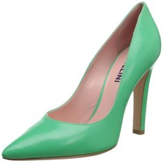 Studio Pollini Women's Pointy Toe Dress Pump,Mint,7.5 M US. This daring look from Studio Pollini is bold and memorable while maintaining a classic silhouette.