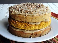 Granny's Grand Cake & Pumpkin Cheesecake Filling | Community Post: 23 Delish Desserts To Bring To Thanksgiving