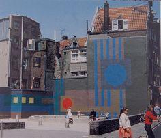 Aldo van Eyck's playground in Zeedijk Street in Amsterdam (1955)