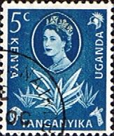 Postage Stamps Kenya Uganda Taganyika 1960 Animals and Plants SG 183 Fine Used Scott Other British Commonwealth Stamps for sale here