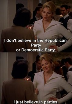 "Image result for i believe in the democratic or republican party ""don t"""