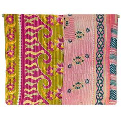 Handmade Kantha Quilts-  from Recycled Saris @ The Mustard Seed, Lake Forest.