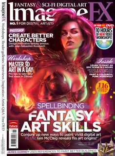 Issue 88, cover painted by Marta Nael.