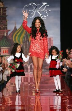 teaching your girls to be fabulous! Kimora Lee Simmons former President and Creative Director of Phat Fashions and currently Creative Director and President of JustFabulous, a personalized shopping website.