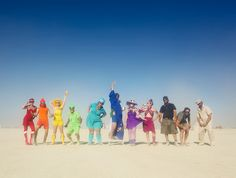 R Camp is better than Your Camp!  Planning things at Burning Man is hard, but when I asked my campmates this year to pick a color so we could run around all day shooting rainbow photos - all expectations were exceeded, and together we had one of my favorite days in Black Rock City yet.