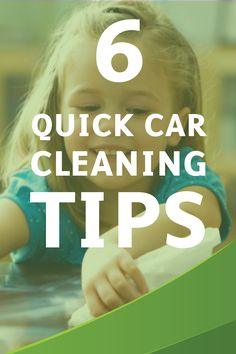 Are you planning a road trip with your family this summer? Before you hit the pavement, check out these 6 Quick Tips for Cleaning Your Car,  brought to you by Bounty,for a fun-filled and stress-free vacation.