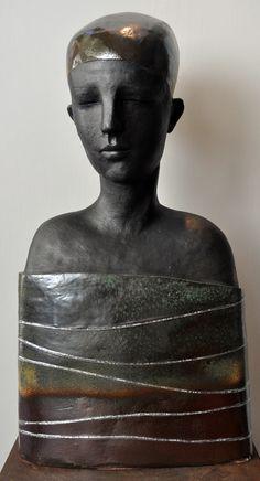 Anna Popowicz ~ Etiope, 2011 (ceramic)