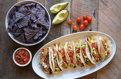 Vegetarian Spaghetti Squash Tacos -- It'd be interesting to try these with BBQ sauce (like pulled pork) and grain-free wraps :)