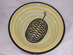 CROWN LYNN - FRANK CARPAY Textile Design, Dinnerware, Decorative Plates, Designers, Pottery, Crown, Graphic Design, Dishes, Tableware