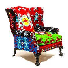 Corita Rose Grand Duke Armchair