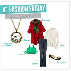 Now here is some holiday comfort for you!  Visit https://itsowlgood.origamiowl.com to shop for the locket.