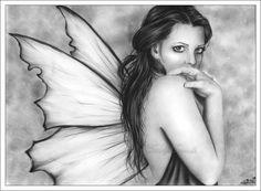 Fairy Girl Ll wallpaper from Fairy wallpapers -  ©Zindy S D Nielsen
