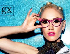Gwen Stefani recently partnered with Tura Inc. to launch not one, but two debut collections of eyewear -- one for her L. line and another, gx eyewear by Gwen Stefani. Lamb Gwen Stefani, Gwen Stefani And Blake, Funky Glasses, Glasses Frames, Super Glasses, Nice Glasses, Computer Glasses, Fashion Eye Glasses, Four Eyes