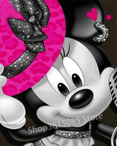 becfd0f889 US $5.79 47% OFF|Aliexpress.com : Buy 5d diy diamond painting Minnie Mouse  crystal mosaic full round diamond 3D diamond embroidery cross stitch  children's ...
