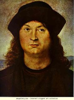 Raphael. Portrait of a Man. 1503-1504. Oil on panel. Museo Galleria Borghese, Rome, Italy