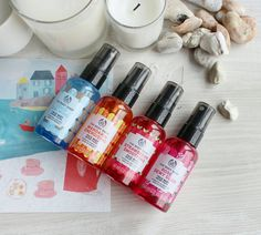New In - The Bodyshop vegan face mists (review)
