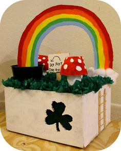 leprechaun trap, kid friendly / school project