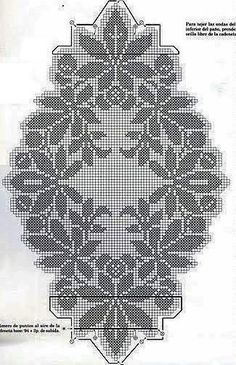 Kira scheme crochet: Scheme crochet no. Crochet Tablecloth Pattern, Crochet Stitches Patterns, Crochet Motif, Crochet Designs, Crochet Doilies, Crochet Yarn, Holiday Crochet, Crochet Home, Crochet Sunflower