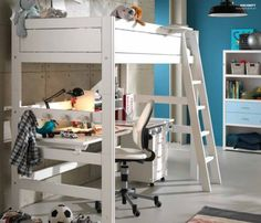 Hochbett / Schreibtisch / Für Kinder (Jungen Und Mächen) EK15  Moretticompact | A New Bed For Klaas | Pinterest | Kids Rooms, Room Ideas  And Bedrooms