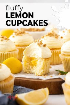 Like sunshine in a mini cake, these fluffy and moist lemon cupcakes are bursting with zesty lemon flavour and topped with an easy cream cheese buttercream. They even have a hidden lemon curd surprise centre. Like a lemon cheesecake in cupcake form, these zingy and bright lemon cupcakes are topped with a super smooth and creamy cream cheese buttercream. #sugarsaltmagic #cupcakes #lemoncupcakes #creamcheesefrosting Cupcake Cream, Cupcakes With Cream Cheese Frosting, Lemon Cupcakes, Best Dessert Recipes, Cupcake Recipes, Sweet Recipes, Baking Recipes, Lemon Desserts, Fun Desserts