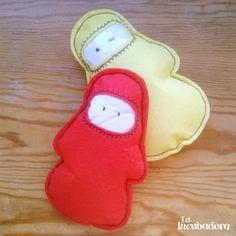 Emil #toy #felt #muñeco #fieltro http://holaincubadora.wordpress.com/2013/12/22/emil/