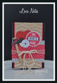 Artisan Wednesday Wow ~ Love Notes ~ Sleepless Stamper