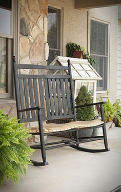 Appalachian Fanback Rocker. Many Colors Available. Perfect For Relaxing On  Your Porch. Www.clfstore.com | Outdoor Living | Pinterest | Colors And Ps