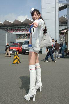 SUPER GT 第2戦 富士 宮越愛恵ちゃん の画像|たっくんのブログ