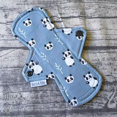 21cm Cloth Pad  MODERATE Absorbency  Cute Pandas