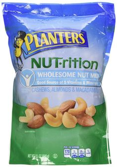 Planters Nut-rition Wholesome Nut Mix 21 Oz * Click here for more details @ http://www.amazon.com/gp/product/B00FZQ9EPQ/?tag=pinbaking-20&ptu=120716052507