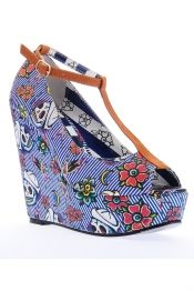 Iron Fist Filthy Landlubber Platform Wedge Shoes Buy Online Direct From Iron Fist - Iron Fist