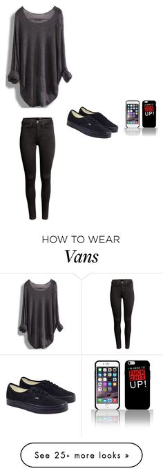 """Blah"" by clairebear89 on Polyvore featuring H&M and Vans"