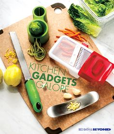 Don't waste another second grating, chopping  or slicing your vegetables without first getting  these tools.