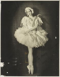 Olga Spessiva in Swan Lake costume, 1934. Photographer Sydney Fox Studio, Sydney. In 1934, Spessivtseva left the tour in an apparent state of mental distress. Although her performances were, on most...