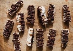 This vegan tahini ice cream bar tastes like a healthy frozen Snickers