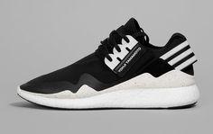 Billig Kaufen Adidas Y-3 Qasa Retro Boost Turnschuhe Herren Schwarz-Weiss…