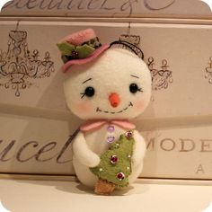 snowlady by Gingermelon, via Flickr