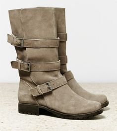 Fall Boots! I <3 buckles on boots!!